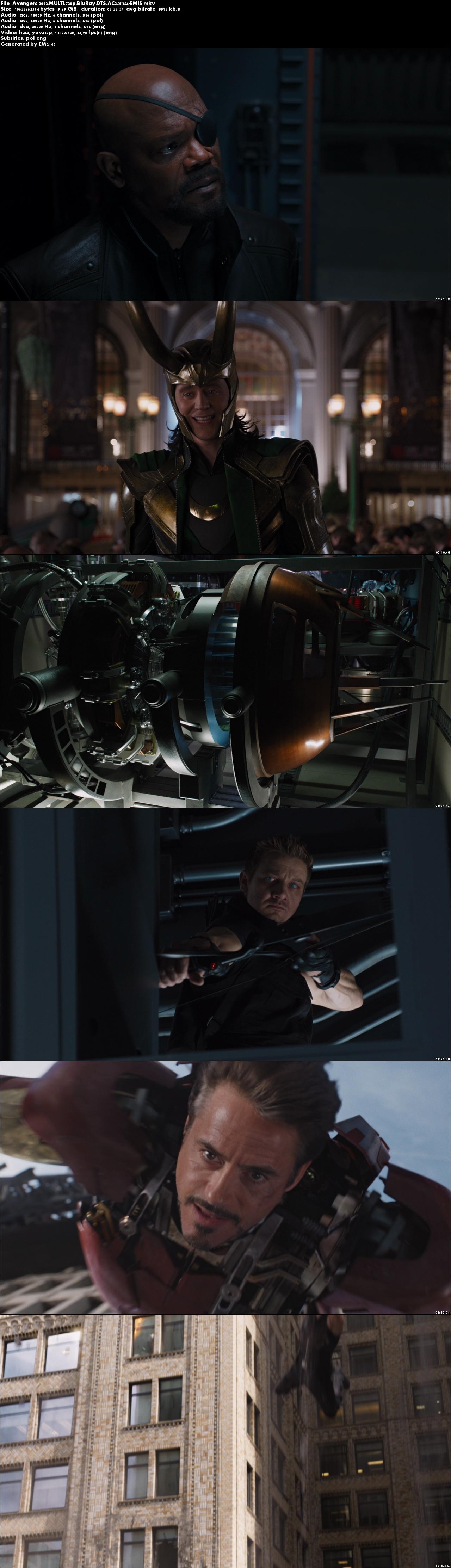 The Avengers 720p
