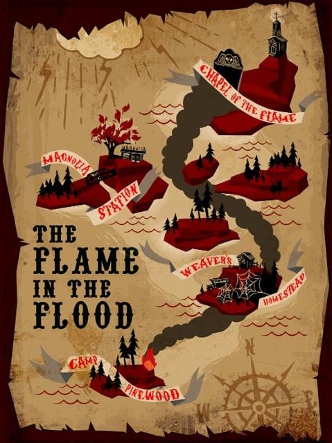 The Flame in the Flood (2016) GOG / Polska wersja językowa