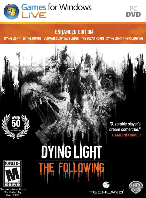 Dying Light Ultimate Edition (2016)[Updated to version 1.34.0 (24.11.2020) + DLC] MULTi12-ElAmigos / Polska Wersja Językowa
