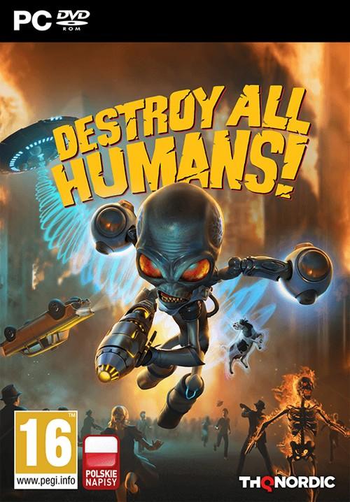 Destroy All Humans 2020 / Destroy All Humans! (2020) [Updated to version 1.0.2530 (17.12.2020) + DLC] MULTi13-ElAmigos / Polska wersja językowa