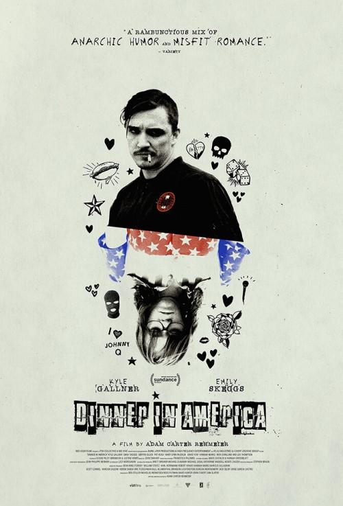 Kolacja po amerykańsku / Dinner in America (2020) PL.480p.BRRiP.DD2.0.x264-P2P / LEKTOR PL