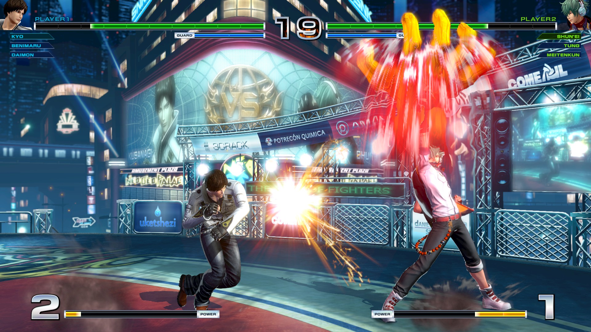 The King of Fighters XIV Steam Edition (2017) [Updated to version 1.26 (21.01.2019)] ElAmigos